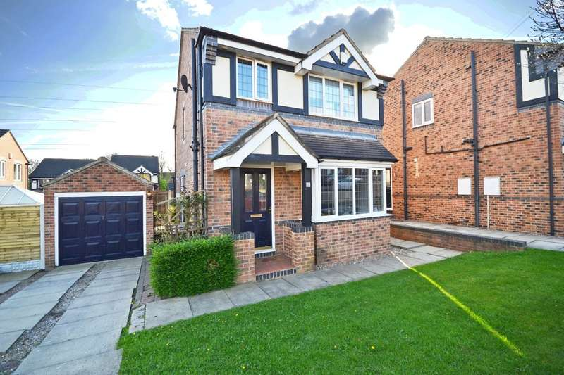 3 Bedrooms Detached House for sale in Bardwell Court, Stanley, Wakefield