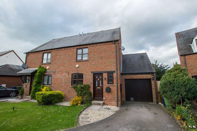 3 Bedrooms Semi Detached House for sale in Green Meadow Bank, Bishops Cleeve, Cheltenham, GL52 8ST