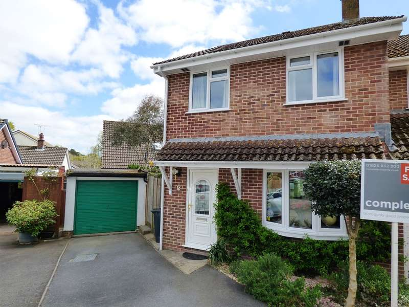 3 Bedrooms Semi Detached House for sale in Kiln Road, Bovey Tracey