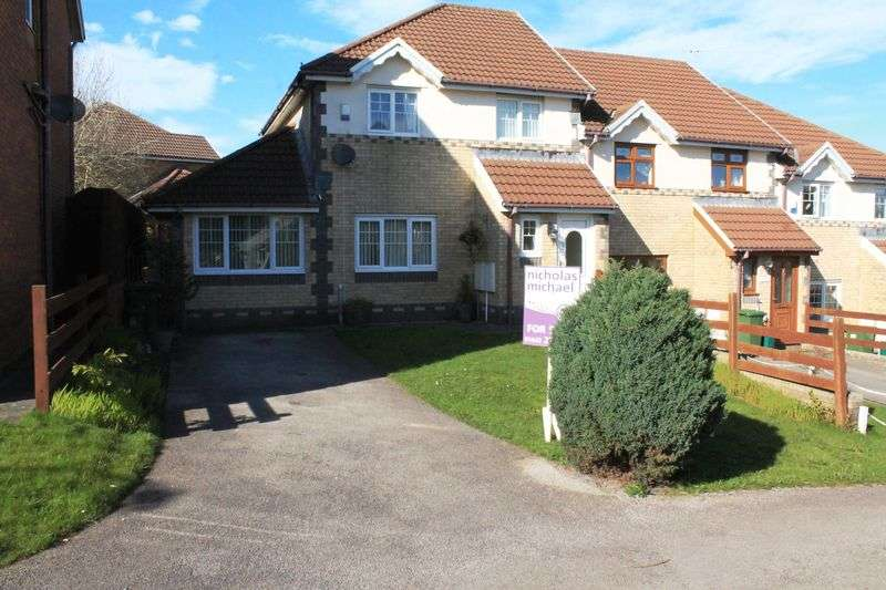 3 Bedrooms Semi Detached House for sale in Nant Y Coed, Tonyrefail, CF39 8FB