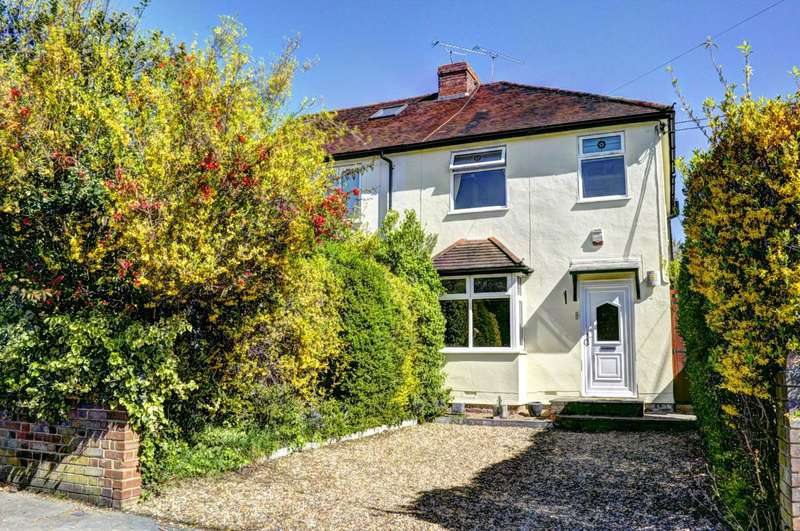 3 Bedrooms Semi Detached House for sale in Oak Tree Road, Marlow