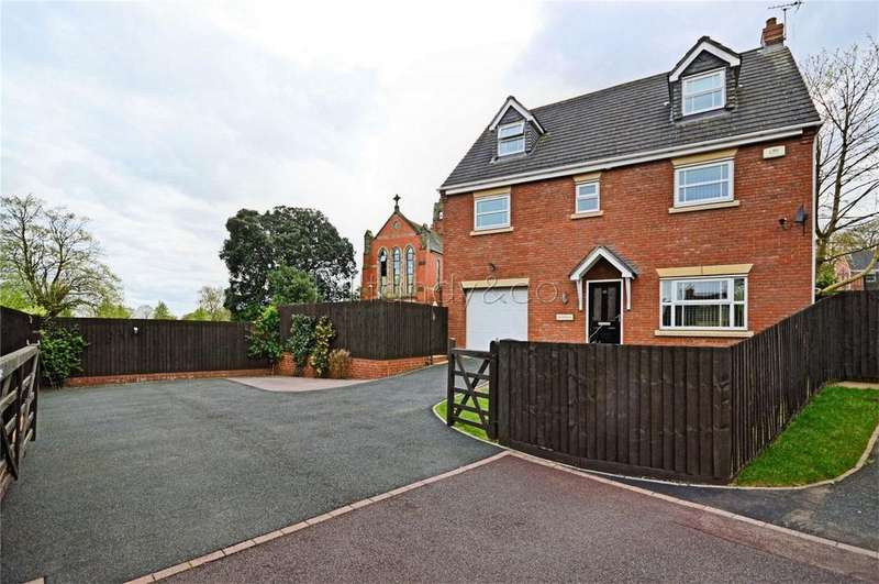 6 Bedrooms Detached House for sale in Nightingale Walk, BURNTWOOD, Staffordshire