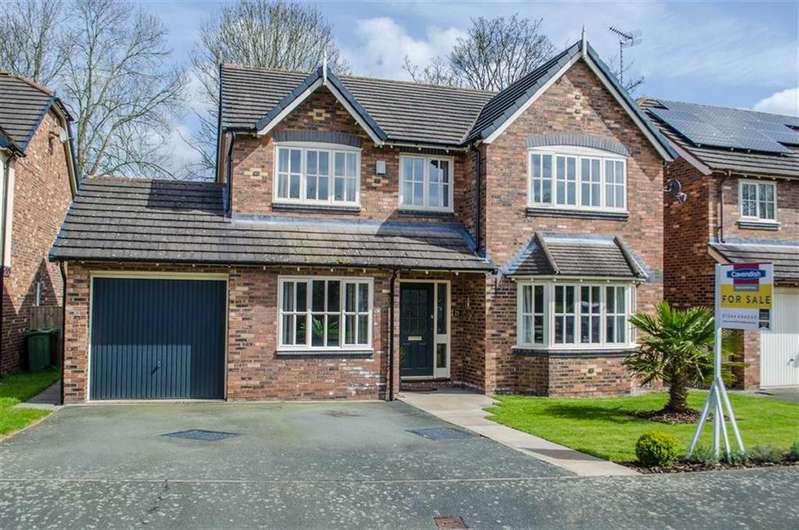 4 Bedrooms Detached House for sale in Rossett Park, Wrexham, Rossett