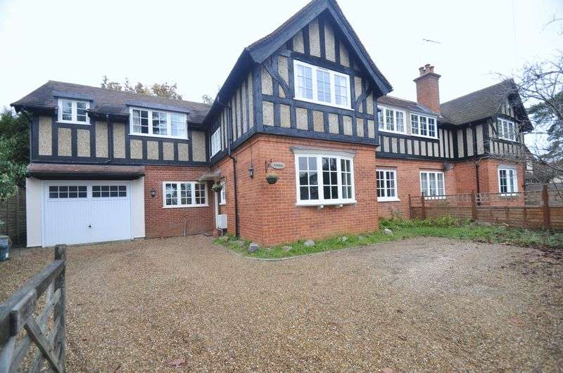 4 Bedrooms Detached House for sale in Crawley Ridge, Camberley