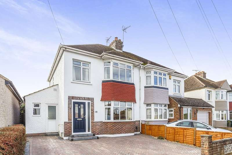 3 Bedrooms Semi Detached House for sale in Heather Drive, Maidstone, ME15