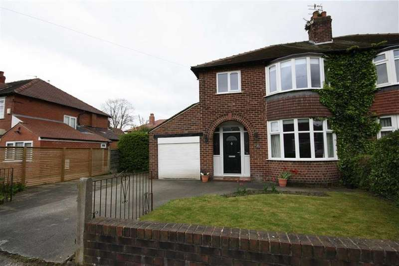 3 Bedrooms Semi Detached House for sale in Cranston Drive, Sale