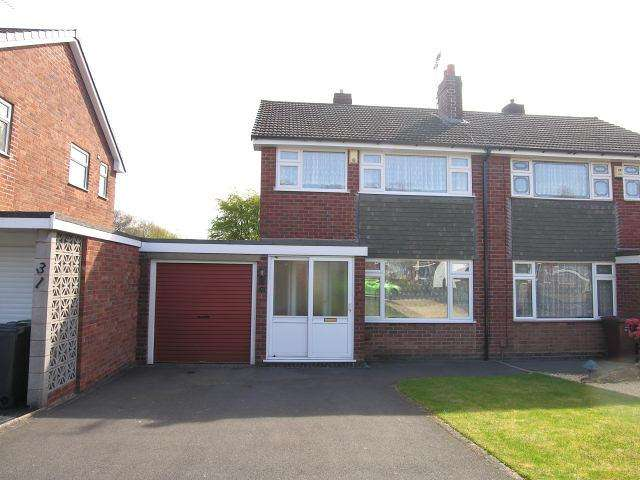 3 Bedrooms Semi Detached House for sale in Oaklands Way,Pelsall,Walsall