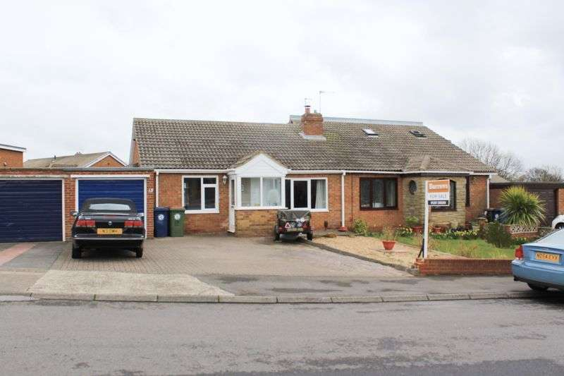 3 Bedrooms Semi Detached Bungalow for sale in St Margarets Way, Brotton