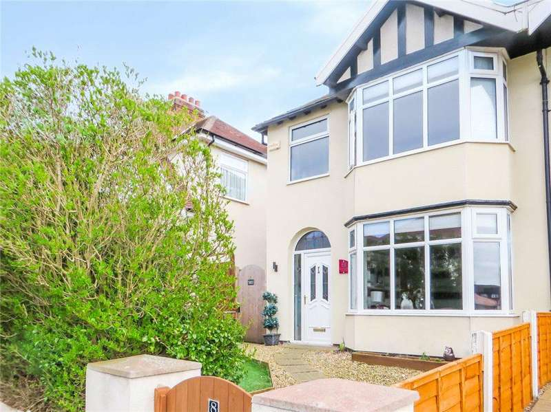 3 Bedrooms Semi Detached House for sale in Rivington Avenue, Bispham, Blackpool
