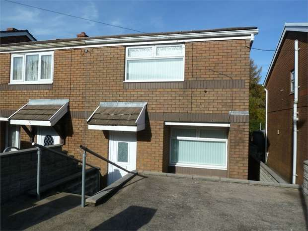 3 Bedrooms Semi Detached House for sale in 6 Sunny Crescent, Croeserw, Cymmer, Port Talbot, West Glamorgan