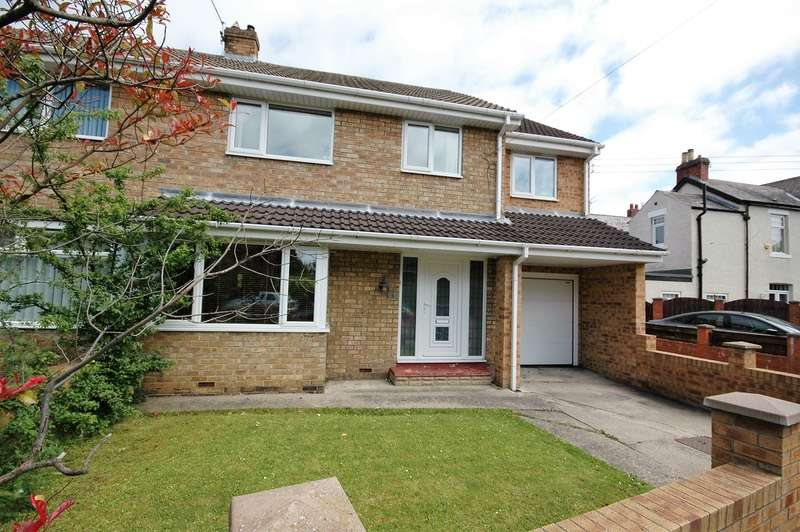 4 Bedrooms Semi Detached House for sale in Bywell Road, Cleadon, Tyne and Wear, SR6