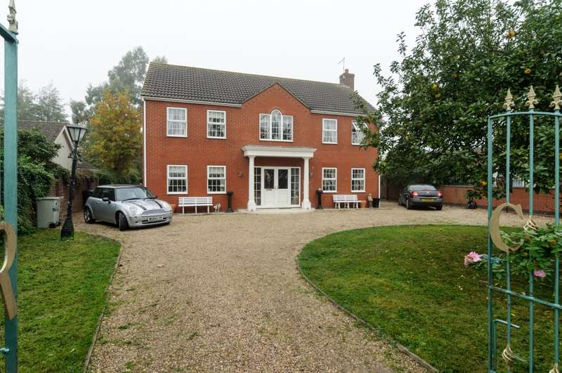 4 Bedrooms Detached House for sale in Wainfleet Rd, Burgh le Marsh, Lincolnshire, PE24