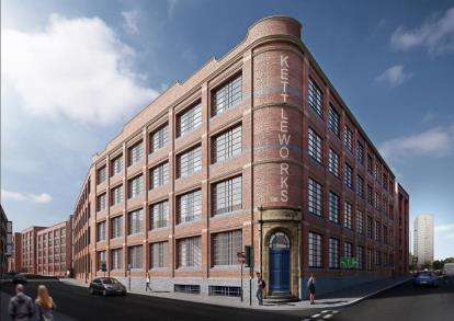 1 Bedroom Flat for sale in The Kettleworks, Hockley, Birmingham, West Midlands