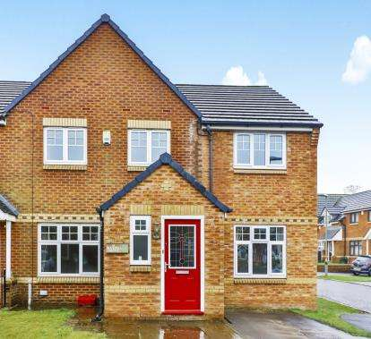 4 Bedrooms Semi Detached House for sale in Bluebell Grove, Burnley, Lancashire