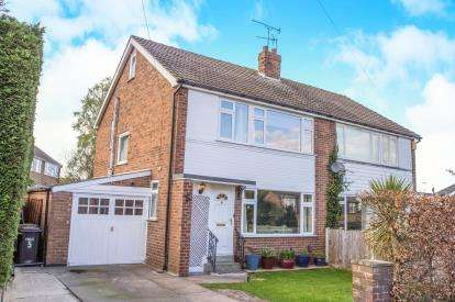 3 Bedrooms Semi Detached House for sale in Aspin Drive, Knaresborough, North Yorkshire, .