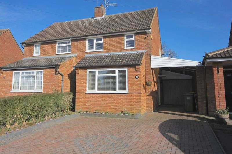 3 Bedrooms Semi Detached House for sale in Fairgreen Road, Caddington.