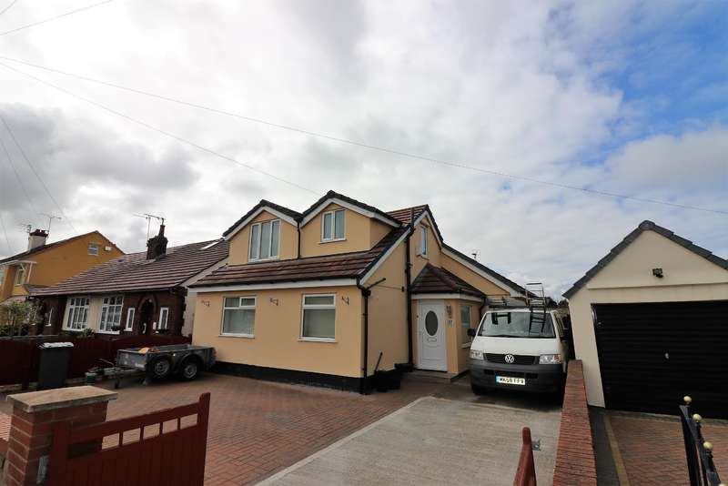 3 Bedrooms Detached Bungalow for sale in Ely Avenue, Wirral, CH46 6DP