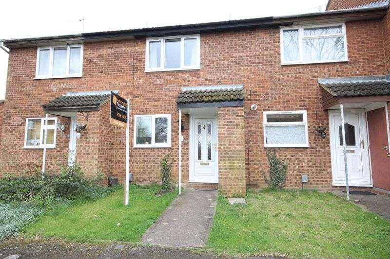 2 Bedrooms Terraced House for sale in Gulliver Close, Kempston, Bedford