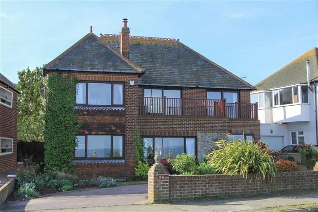 5 Bedrooms Detached House for sale in Marine Crescent, Tankerton, Whitstable