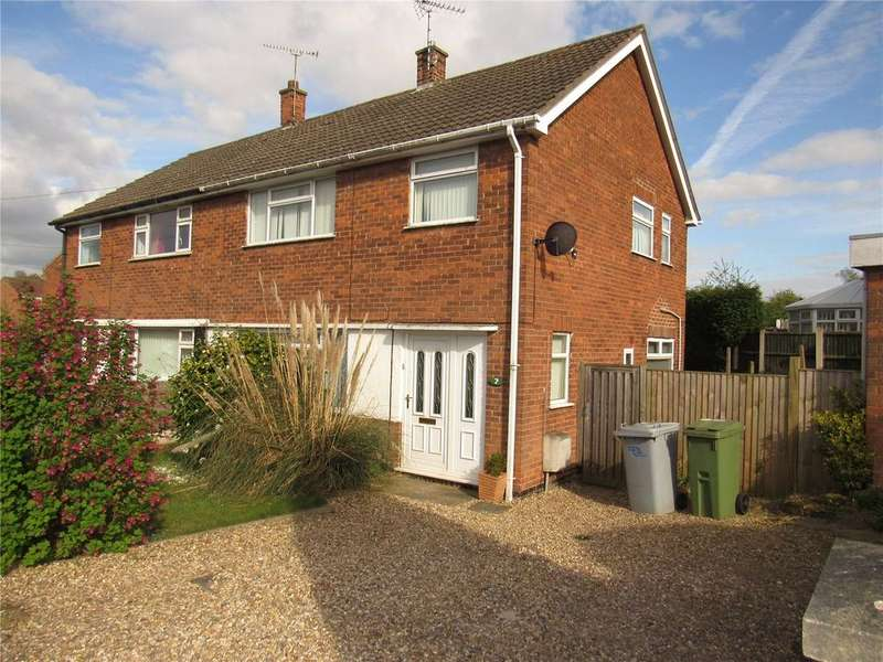 3 Bedrooms Semi Detached House for sale in Cambridge Road, Rainworth, Nottinghamshire, NG21
