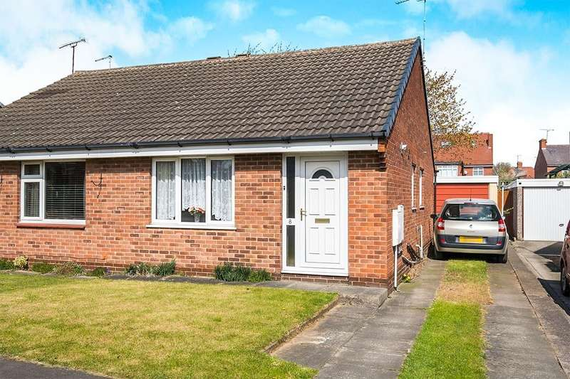 2 Bedrooms Semi Detached Bungalow for sale in Gleneagles Road, Dinnington, Sheffield, S25