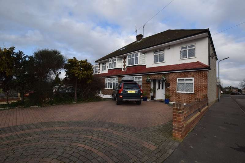5 Bedrooms Semi Detached House for sale in pettits, romford, Essex, RM1