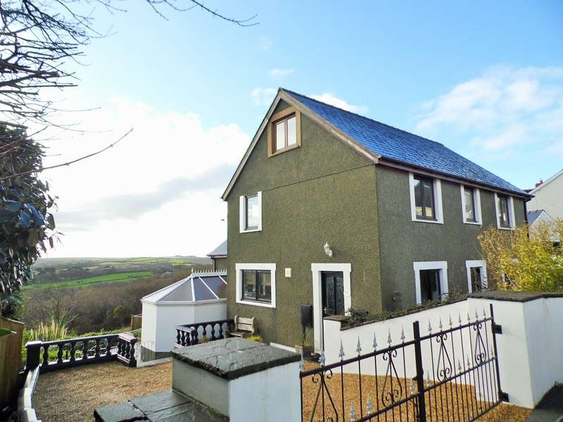 4 Bedrooms Detached House for sale in Nantyffnnon, Goodwick, Pembrokeshire, SA64