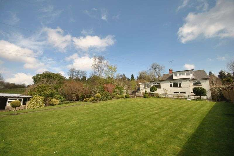 3 Bedrooms Detached Bungalow for sale in CLEMENTS END, COLEFORD, GLOUCESTERSHIRE
