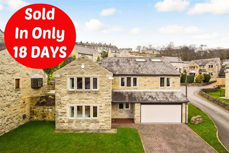 5 Bedrooms Detached House for sale in Excelsior Close, Halifax