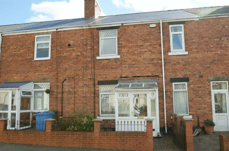 3 Bedrooms Terraced House for sale in Portland Road, Langwith