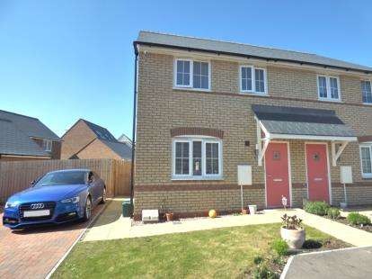 3 Bedrooms Semi Detached House for sale in Mary Rose, Brooklands, Milton Keynes