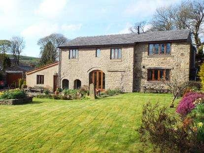4 Bedrooms Barn Conversion Character Property for sale in Reeds Lane, Rossendale, Lancashire, BB4