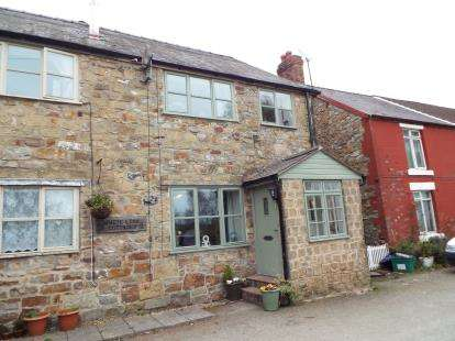 3 Bedrooms Semi Detached House for sale in White Lion Cottages, New Brighton, Minera, Wrexham, LL11