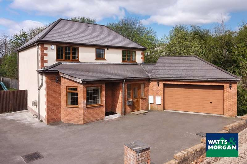 4 Bedrooms Detached House for sale in The Brambles, Cross Inn, Nr Llantrisant, CF72 8BF