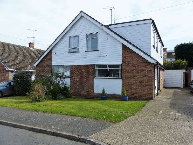3 Bedrooms Semi Detached House for sale in The Willows, Daventry, NN11 0PY