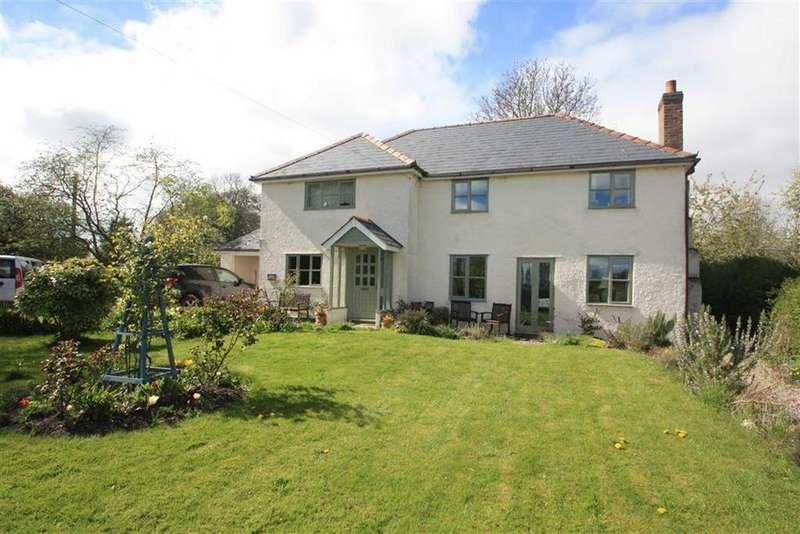 4 Bedrooms Detached House for sale in Woodseaves, EARDISLEY, Eardisley Hereford, Herefordshire
