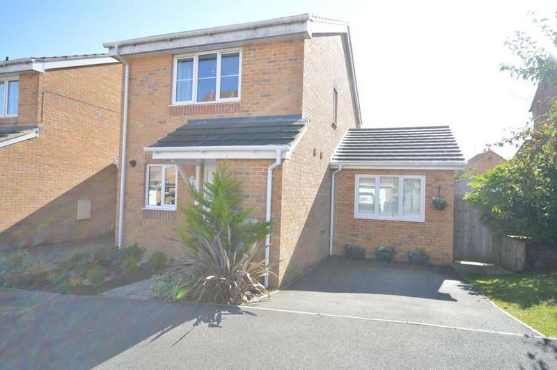 2 Bedrooms Link Detached House for sale in Snowberry Road, Newport