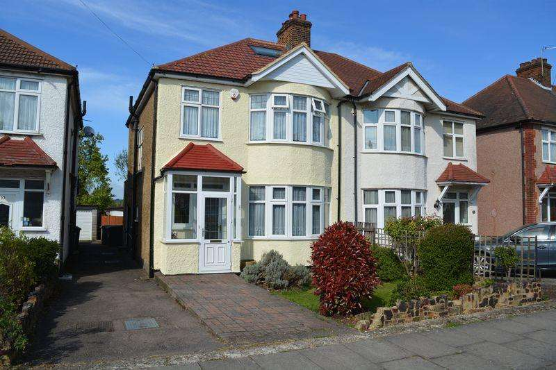 3 Bedrooms Semi Detached House for sale in West Way, Edgware