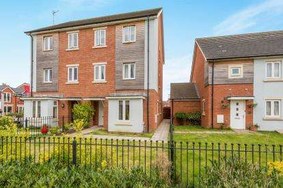 3 Bedrooms Semi Detached House for sale in St. Athan Close Kingsway, Quedgeley, Gloucester, Gloucestershire