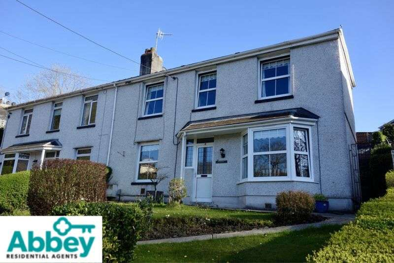 3 Bedrooms Semi Detached House for sale in Dulais Fach Road, Tonna, Neath, SA11 3JW