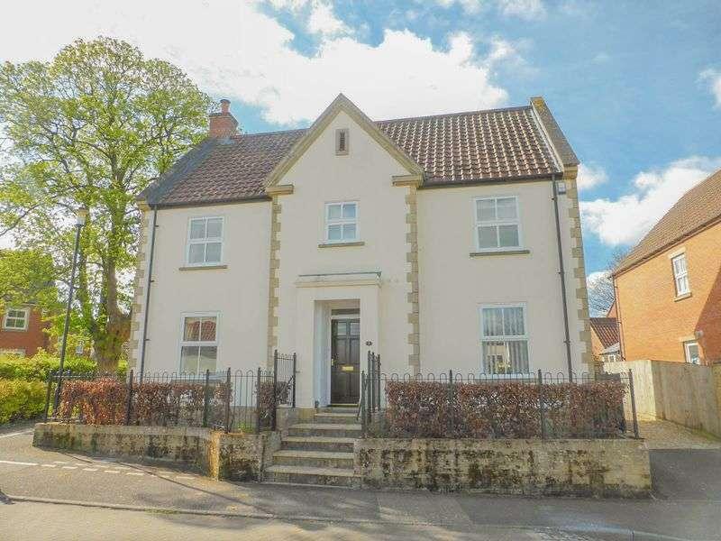 4 Bedrooms Detached House for sale in Webber Road, Shepton Mallet