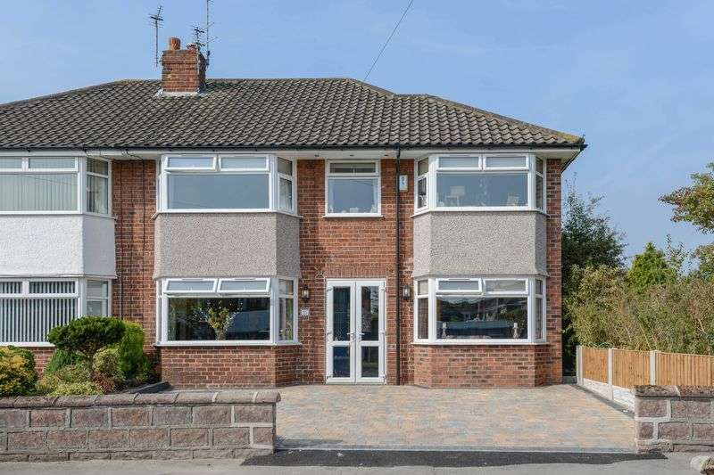 4 Bedrooms Semi Detached House for sale in Clent Avenue, Lydiate
