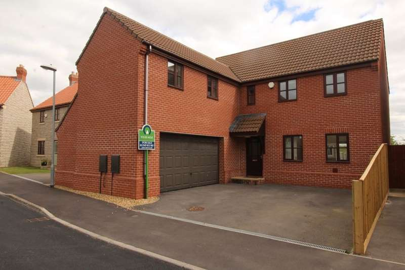 5 Bedrooms Detached House for sale in Middle Farm Close, Dauntsey, Chippenham, SN15
