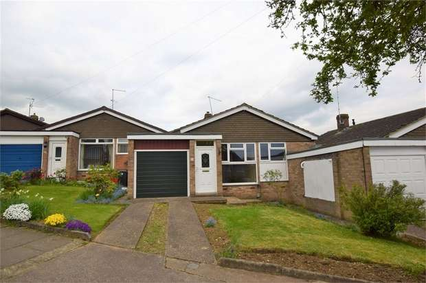 2 Bedrooms Detached Bungalow for sale in Oulton Rise, Parklands, NORTHAMPTON