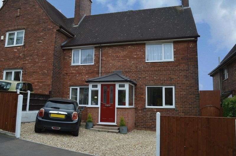3 Bedrooms Semi Detached House for sale in Jellicoe Avenue, Lincoln