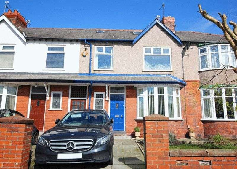 4 Bedrooms Terraced House for sale in Melbreck Road, Mossley Hill, Liverpool, L18