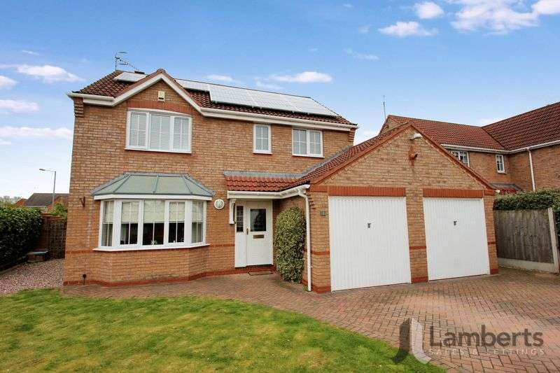 4 Bedrooms Detached House for sale in Isaacs Way, Droitwich
