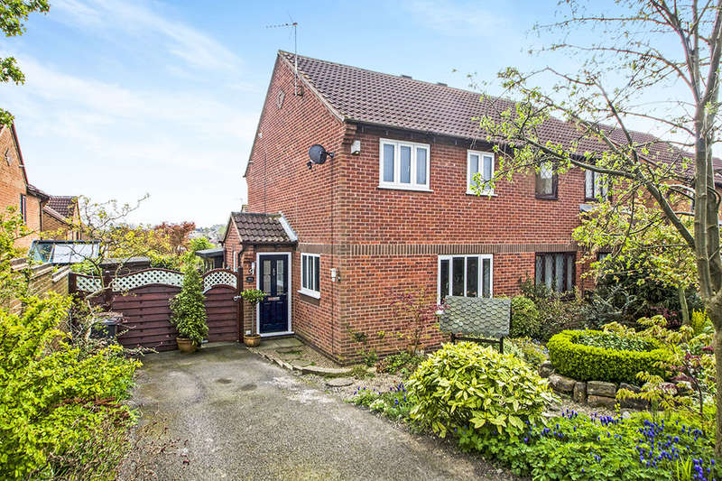 2 Bedrooms Semi Detached House for sale in Hallam Way, West Hallam, Ilkeston, DE7