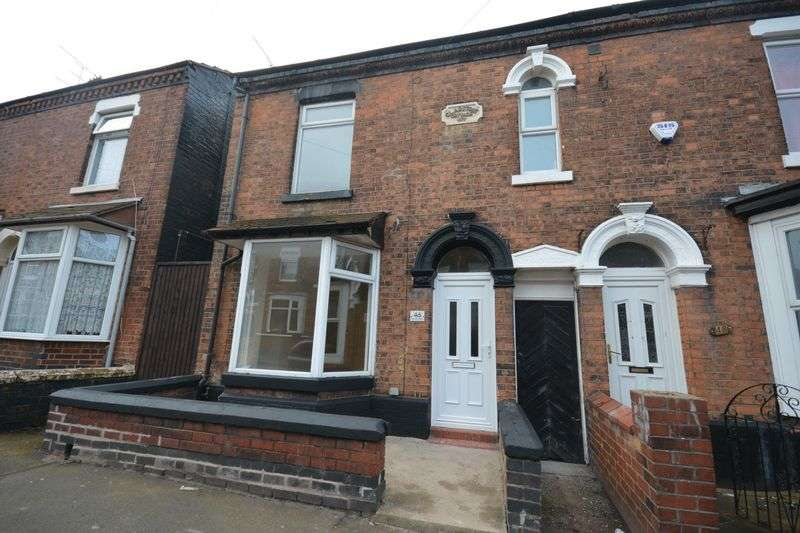 3 Bedrooms Terraced House for sale in Samuel Street, Crewe