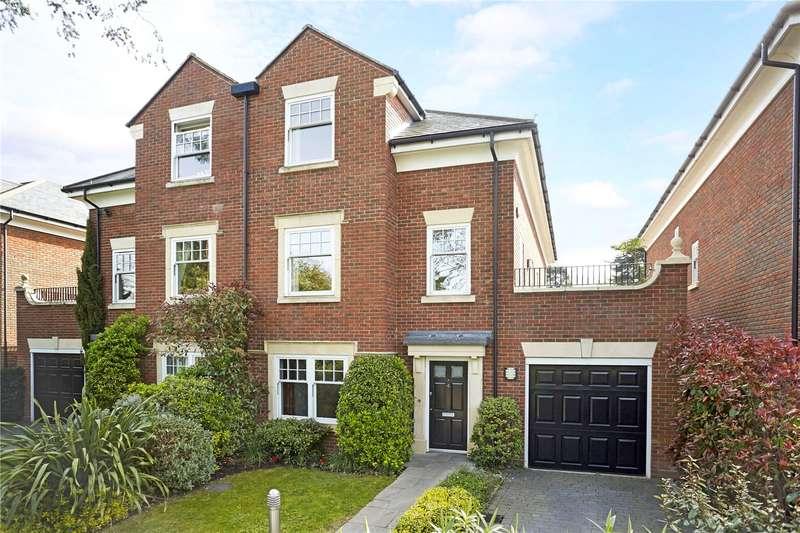4 Bedrooms Semi Detached House for sale in Grange Court, Old Avenue, Weybridge, Surrey, KT13